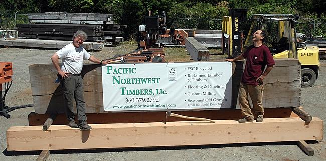 Marc Mandel & Jake Jacob Purveyors of Reclaimed Wood Lumber Products