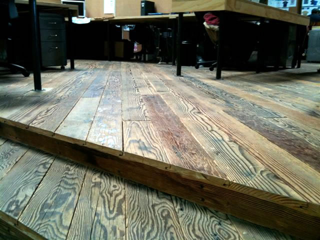 Douglas Fir Reclaimed Wood Flooring Mid Grade Photo 3