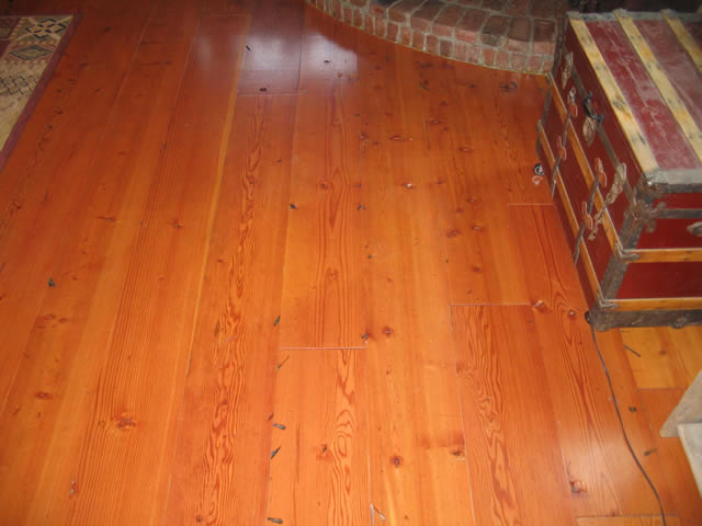 Douglas fir reclaimed wood flooring mid grade photo 1 for Reclaimed douglas fir flooring