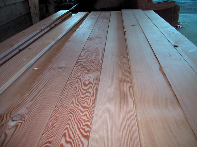 High grade douglas fir reclaimed wood flooring for Reclaimed douglas fir flooring