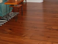 Albuquerque Home Finished Knotty Pine Flooring