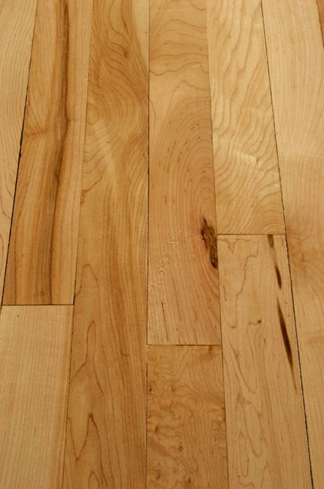 Reclaimed Flooring Finished Maple Flooring from Recycled Building Materials