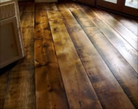 Douglas-fir Wide Plank Flooring