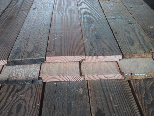 New recycled lumber products interior exterior siding for Reclaimed wood decking