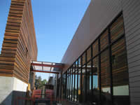 Whole Foods San Jose Exterior Doug Fir Siding