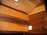 Interior Recycled Paneling Western Red Cedar
