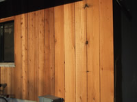 Western Red Cedar Recycled Siding