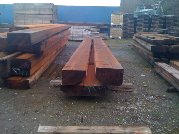 FSC<sup>®</sup> Certified Western Red Cedar Cants