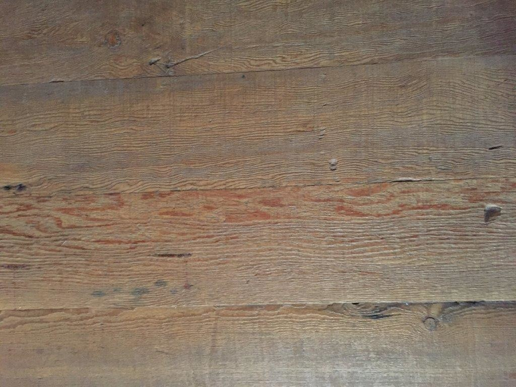 Old Patina Fir Roughcut Floor With Fresh Tongue Groove